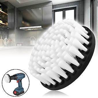 Drill Power Scrub Cleans Brush For Leather Plastic Wooden Furniture Car