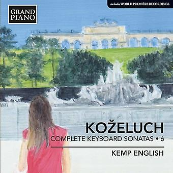 Kozeluch, L. / English, Kemp - Kozeluch, L. / English, Kemp: Complete Keyboard Sonatas: Kozeluch 6 [CD] USA import