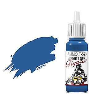 Ammo by Mig Figure Paints F-523 Light Sky Blue