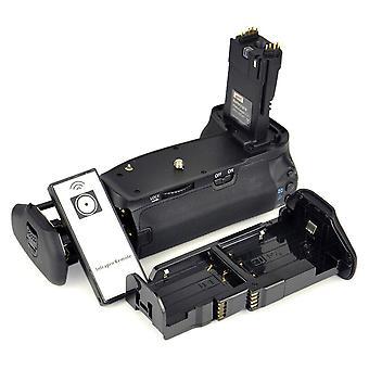 Dste professionnel bg-e9 bge9 support de poignée de batterie pour canon eos 60d slr appareil photo numérique + rem sans fil