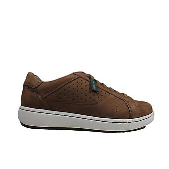 Josef Seibel David 09 Brown Leather Mens Lace Up Trainer Shoes