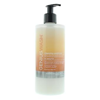 Redken Genius Wash Cleansing Conditioner For Unruly Hair 500ml