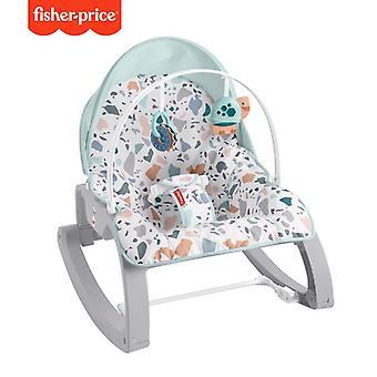 Fisher-price terrazzo newborn to toddler rocker