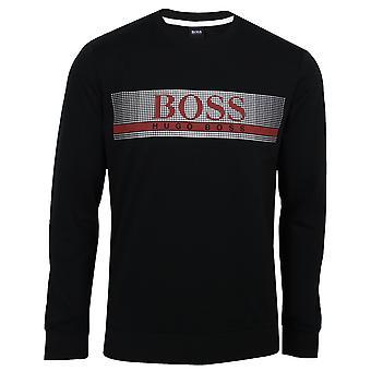 Hugo boss men's black authentic sweatshirt
