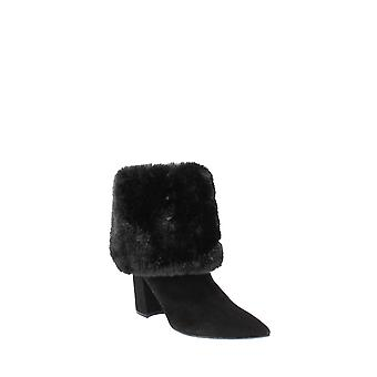 Nine West | Chrissa Cuffed Fur Booties