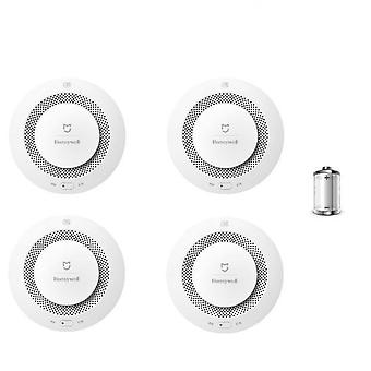 Fire Alarm Smoke Sensor Gas Detector Work With Multifunction Gateway
