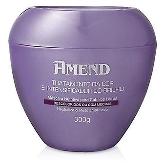 Amend Mask Color Treatment and Shine Intensifier blond hair 300 gr