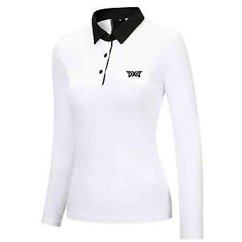 Golf tavasz, ősz, P-hosszú ujjú póló, Szabadidő Sport