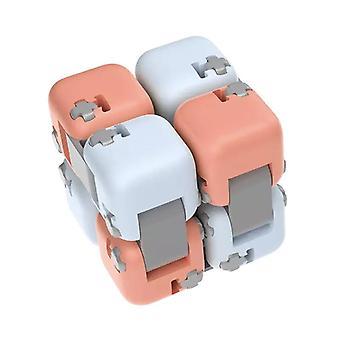 DIY Byggesten Infinite Cube Fingertip Dekompression Stress Relief Ubegrænset Flipping Blokke til