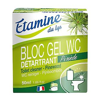 Block toilet disinfectant 50 ml of gel