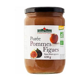 Apple and fig puree without sugar 630 g
