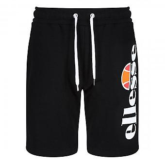 Ellesse Bossini pantalones cortos de jersey negro