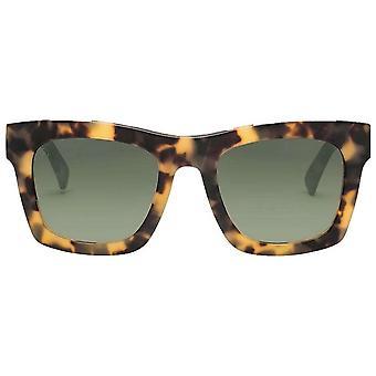 Electric California Crasher Sunglasses - Matte Tortoise Shell/Polarised Grey