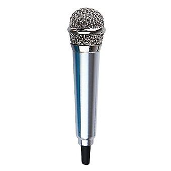 Portable 3.5mm Stereo Studio Mic Ktv Karaoke Mini Microphone For Cell Phones