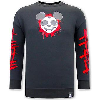 Gangster Mouse Sweater - Black