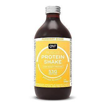QNT fehérje magas szénhidrát utáni képzés Recovery Shake (banán) 12 X 500ml