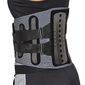 Men women adjustable waist trainer belt lower back brace spine support belt orthopedic breathable lumbar corset pain relief