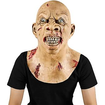 Scary Walking Dead Zombie Mask, Novelty Halloween Creepy Costume Party horror Decoration Props
