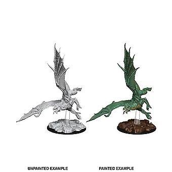 Young Green Dragon: D&D Nolzur's Marvelous Unpainted Miniature (W8)
