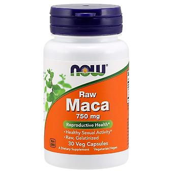 Nå Foods Maca 750 mg RAW 30 vegetabilske kapsler