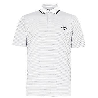 Callaway Micro Stripe Golf Polo Shirt Mens