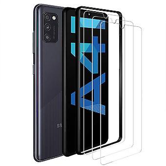 HaiFei 3 Stck Schutzfolie Kompatibel mit Samsung Galaxy A41 Panzerglas, 9H-Hrte/Keine Blasen/Einfach