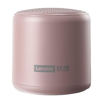 Mini altoparlante wireless Lenovo L01 - Altoparlante wireless Bluetooth 5.0 Soundbar Box Rose Gold