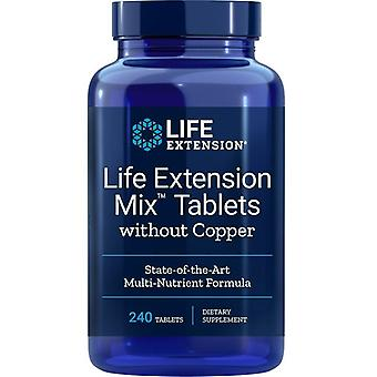 Life Extension Life Extension Mix Tabletten ohne Kupfer Tabs 240