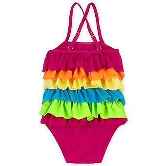 Swimsuit cross-border style ruffles backless summer fashion swimwear