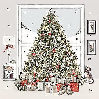Wrendale تصاميم عيد الميلاد التقويم ظهور