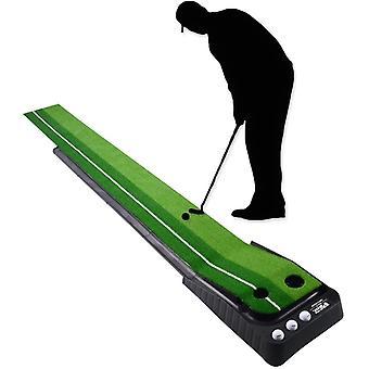 FengChun Golf Auto Rckkehr Puttingmatte, Indoor Outdoor Putting Trainer Matte fr Zuhause Bro Gym