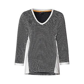 Gata en 313925 T-Shirt, Mångfärgad (Svart 20001), 44 (Storlekstillverkare: 38) Kvinna