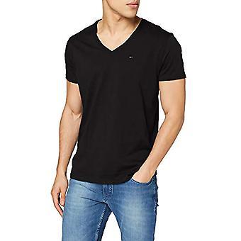 Tommy Jeans Original Jersey T-shirt, Noir (Tommy Black 078), L Homme(1)