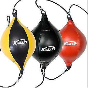 أحمر الكمثرى على شكل حبل مرن الملاكمة الكرة الملاكمة كيس اللكم az4983
