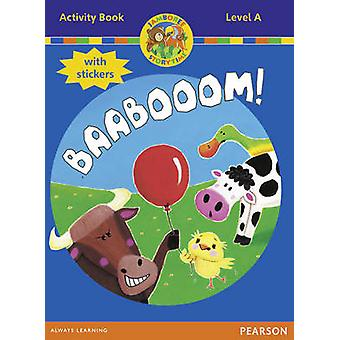 Jamboree Storytime Level A Baabooom Activity Book with Stickers by Bill LaarJackie HoldernessNeil Griffiths