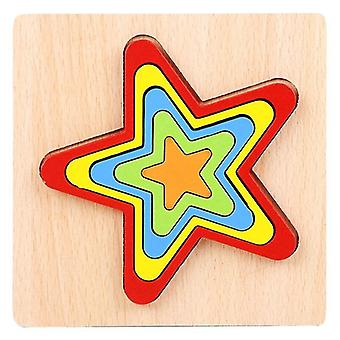 For Toddler Puzzles Puzzle Preschool Learning Early Educational Gift for Kids Age 1 2 3 4 5 6|Blocks WS19120