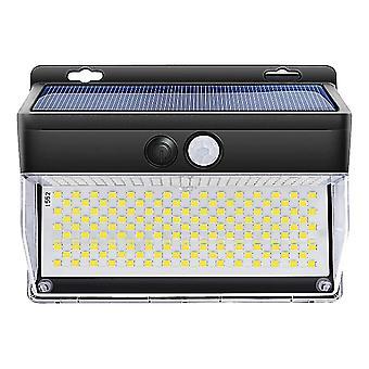 Multicolor 1pc solar powered 262 leds wall light motion sensor lamp for porch patio dt2753