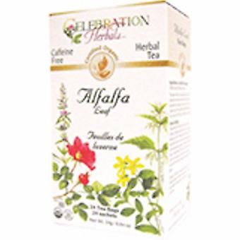 Celebration Herbals Organic Alfalfa Leaf Tea, 24 Bags