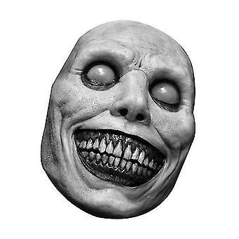 Halloween Scary Maske Lächelnder Dämon (Weiß)
