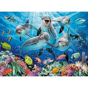 Ravensburger Delfin Puzzle (500 Teile)