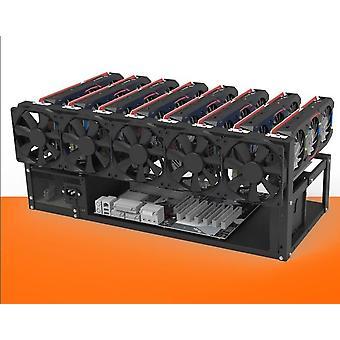 מסגרת אוויר, מארז מסגרת כרייה עד 12 GPU עבור מטבע מטבע קריפטוגרפי