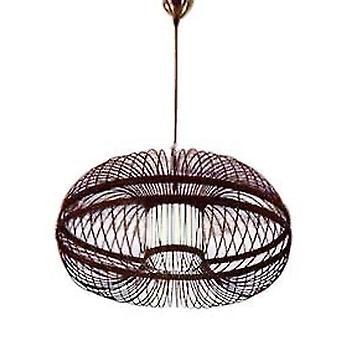 Fine Asianliving Sufit Światło Wisiorek Oświetlenie Bambus Lampshade Handmade - Morris