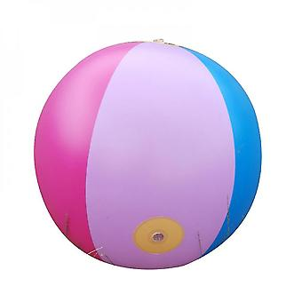 Inflatable Sprinkler Water Ball Outdoor Fun Toy For Hot Summer Swimming Party(6 Color)
