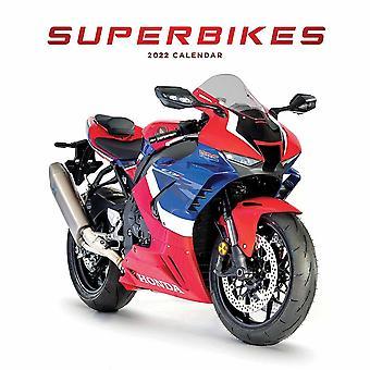 Otter House Superbikes Wiro Väggkalender 2022