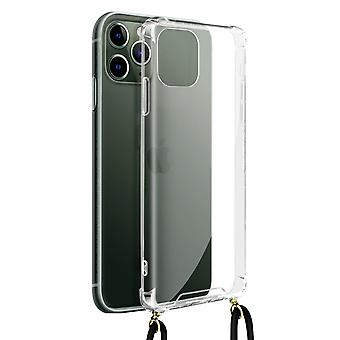 Cover Lanyard for iPhone 11 Pro Flexible Neck Strap Clear