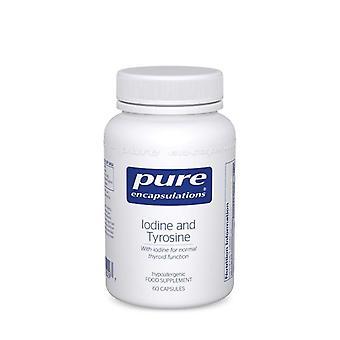 Pure Encapsulations Iodine & Tyrosine Capsules 60 (IT6UK)