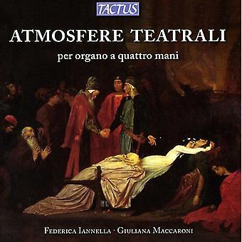 Iannella, /Maccaroni - Atmosfere Teatrali, Per Organo a Quattro Mani [CD] USA import