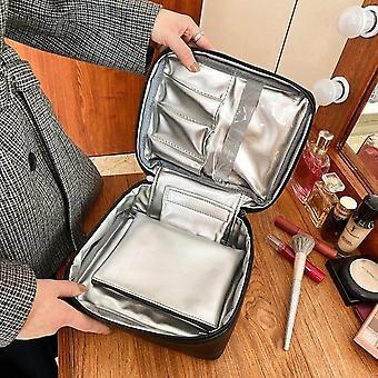 Kosmetikerin Notwendige Doppelschicht Kosmetiktasche Box Frauen Schönheit Eitelkeit Make Up Tools Organizer Case