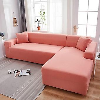 رمادي اللون العادي مرونة تمتد أريكة تغطية تحتاج إلى النظام 2piece أريكة الغطاء إذا L-على غرار fundas الأرائك يخدع chaise longue حالة لأريكة