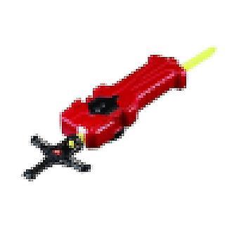 Burst Beyblade Metall Fury Fusion Diabolos Spinning Spielzeug für Kinder 5+(Launcher 3)
